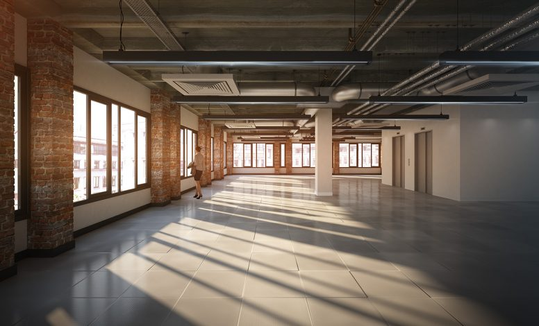 London Office Space Interior