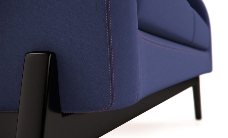 Office Sofa (detail 003)