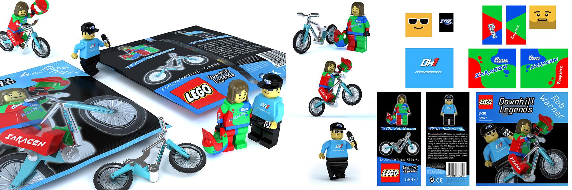 LEGO Rob Warner